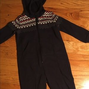 Adorable HM winter zip up suit
